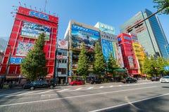 秋叶原电镇在东京 库存图片