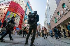 秋叶原电镇在东京 库存照片