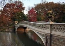 秋天中央公园 库存图片