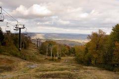 秋天五颜六色的季节结构树 库存照片