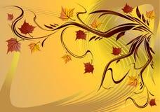 秋天向量 库存图片