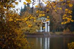 秋天和公园 免版税库存图片