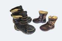 秋天和春季的童鞋 免版税库存图片
