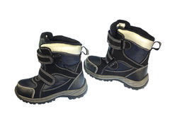 秋天和春季的童鞋 免版税库存照片