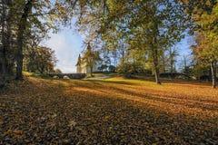 秋天在Ã-stergötland,瑞典 免版税库存图片