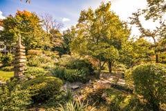 秋天在世田谷区公园 图库摄影