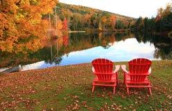 秋天在佛蒙特 库存照片