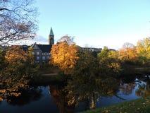 秋天在哥本哈根 库存图片