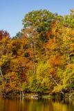 秋天在圣徒布鲁诺公园上色万花筒 免版税库存照片
