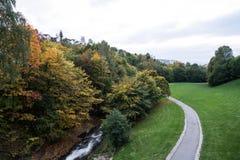 秋天在奥斯陆 免版税图库摄影