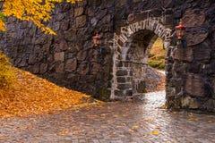 秋天在奥斯陆 库存图片