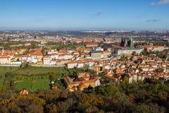秋天在布拉格,捷克,欧洲 库存照片