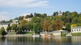 秋天在布拉格 免版税库存照片