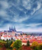 秋天在布拉格 免版税库存图片