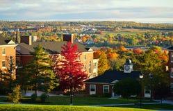 秋天在弗雷德里克顿,加拿大 免版税库存图片
