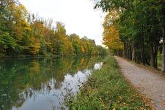 秋天在德国,慕尼黑 库存图片