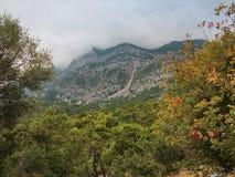 秋天在托鲁斯山脉在土耳其 图库摄影