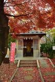 秋天在日本-小寺庙 免版税图库摄影