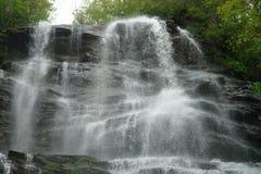 水秋天在森林 免版税库存图片