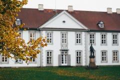 秋天在欧登塞,丹麦 免版税库存照片