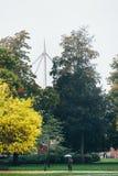 秋天在欧登塞,丹麦 库存图片