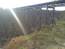 秋天在西维吉尼亚 免版税图库摄影
