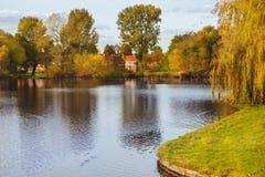 秋天在阿姆斯特丹 免版税库存图片