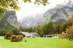 秋天在阿尔卑斯 图库摄影