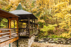 秋天在巴伐利亚 免版税库存图片