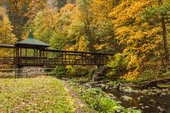 秋天在巴伐利亚 库存图片