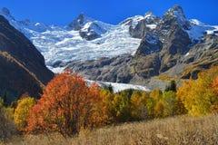 秋天在Dombaj 库存照片
