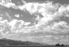 秋天在Shosh村庄附近在卡拉巴赫运作 免版税图库摄影