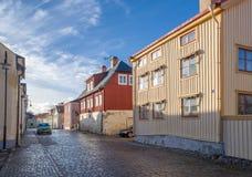 秋天在Soderkoping,瑞典 免版税库存照片