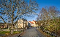 秋天在Soderkoping,瑞典 免版税图库摄影