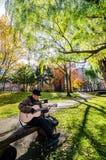 秋天季节的北海道大学 库存图片