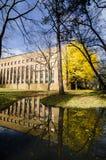 秋天季节的北海道大学 免版税图库摄影
