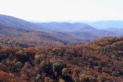 秋天山顶层 库存图片