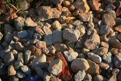 秋天岩石 库存图片