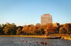 秋天心情在赫尔辛基 库存照片