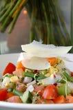 秋天新鲜的沙拉 免版税库存图片