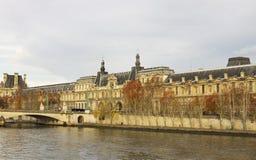 秋天时光的巴黎 免版税图库摄影