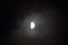 秋天月亮 库存图片