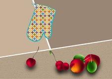 秋天果子 向量例证