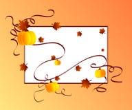 秋天框架 库存照片
