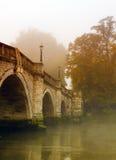 秋天桥梁里士满 库存照片