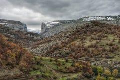 秋天横向摩尔多瓦共和国 库存照片