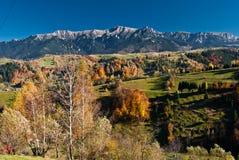 秋天横向罗马尼亚 库存图片