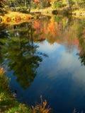 秋天横向vi 库存图片