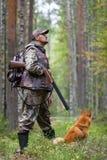 秋天狩猎 免版税库存照片