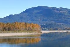 秋天的加拿大原野 免版税库存图片